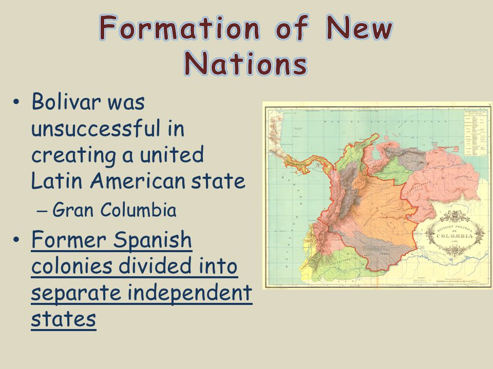 Formation of New Nations