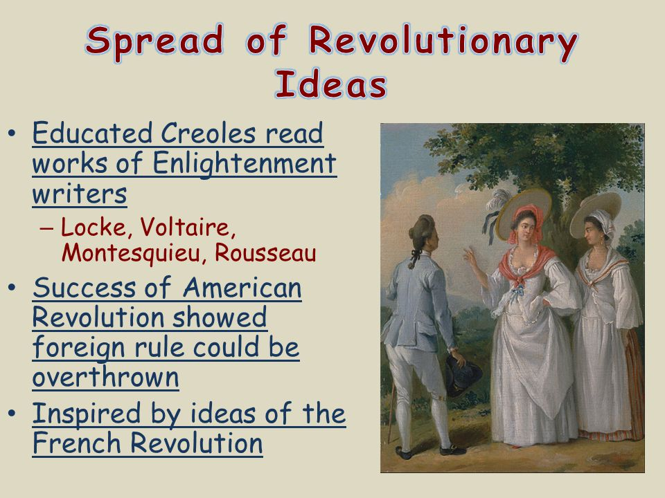 Spread of Revolutionary Ideas