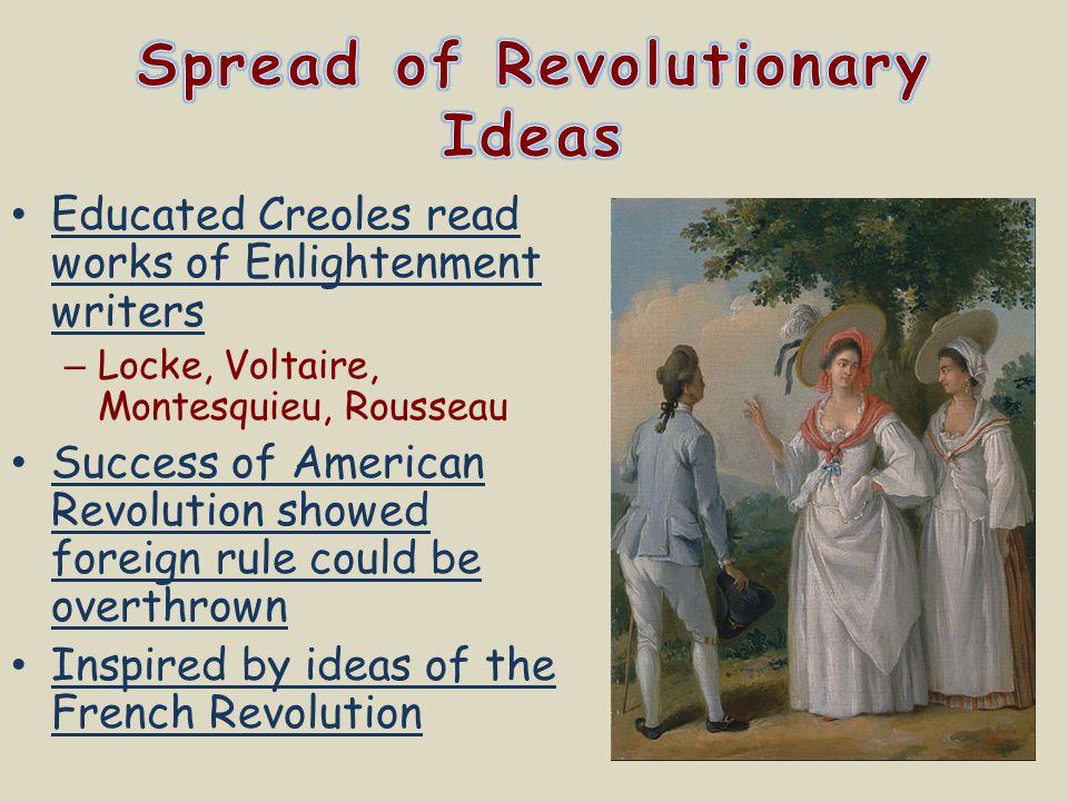 Spread of Revolutionary Ideas