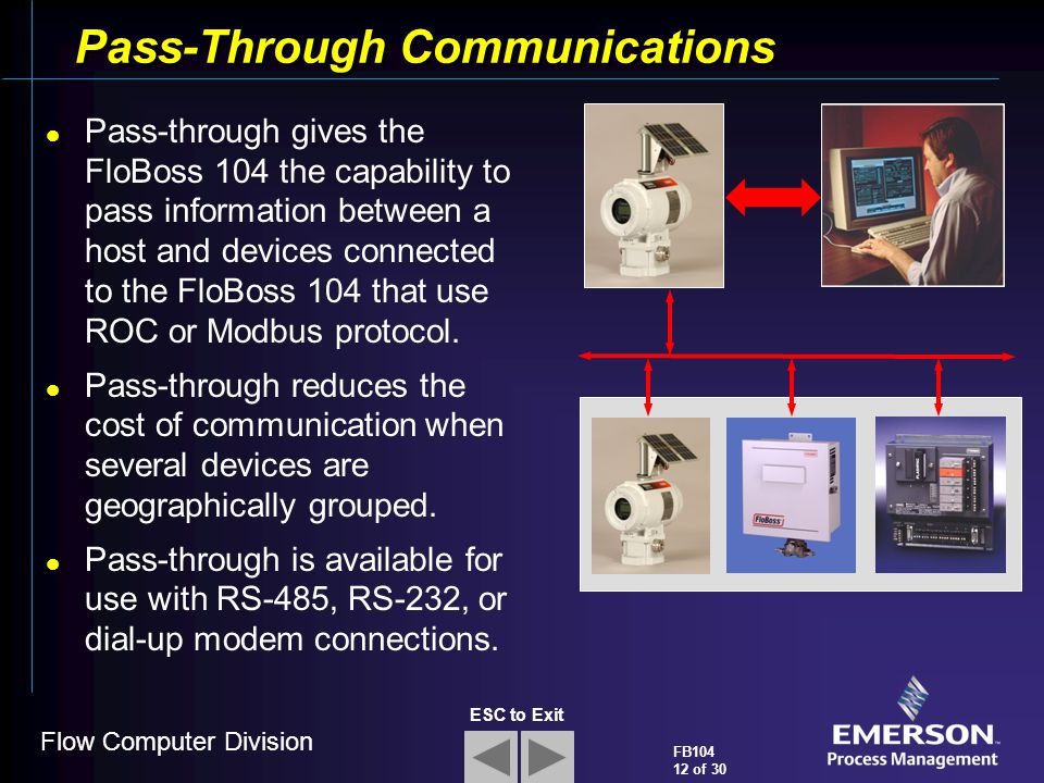 Pass-Through Communications