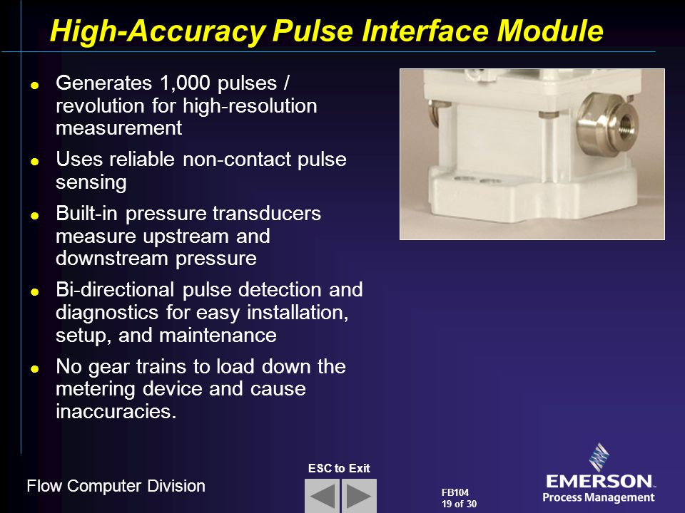 High-Accuracy Pulse Interface Module