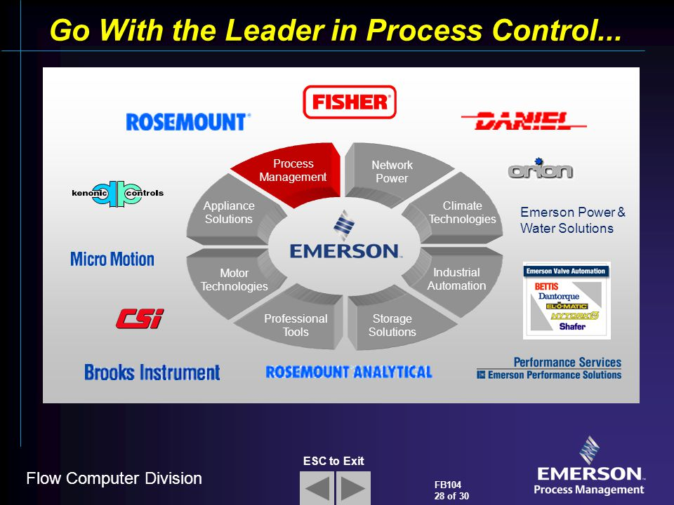 Go With the Leader in Process Control...