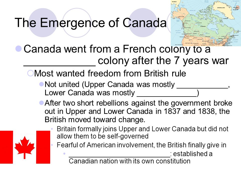 The Emergence of Canada