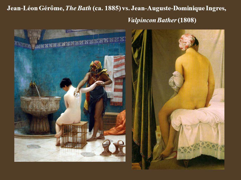 Jean-Léon Gérôme, The Bath (ca. 1885) vs