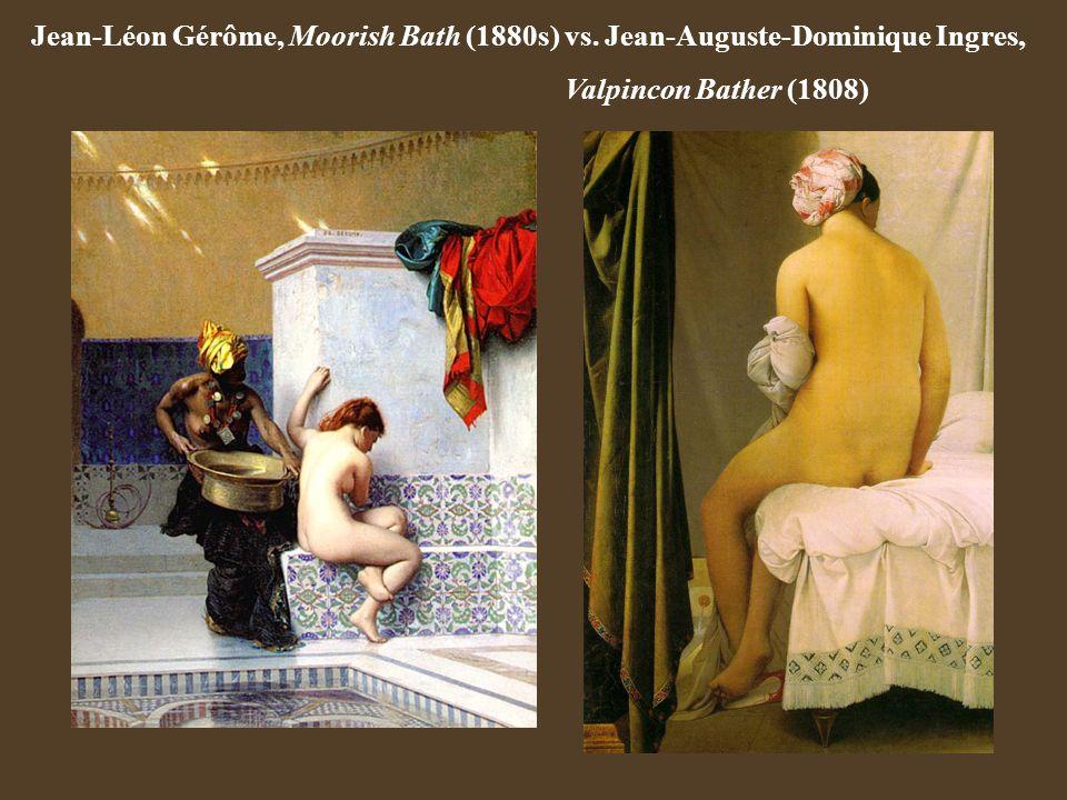 Jean-Léon Gérôme, Moorish Bath (1880s) vs