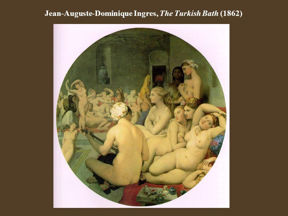 Jean-Auguste-Dominique Ingres, The Turkish Bath (1862)