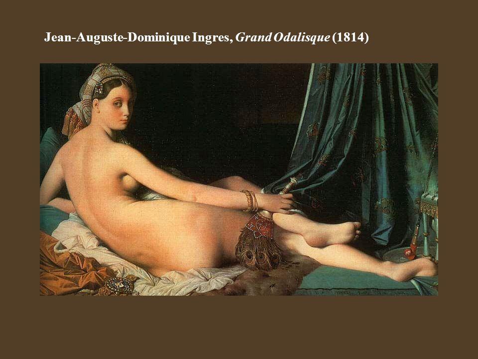 Jean-Auguste-Dominique Ingres, Grand Odalisque (1814)