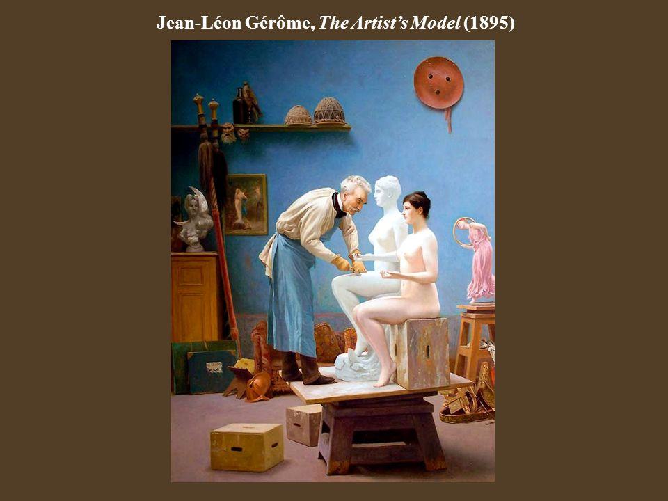 Jean-Léon Gérôme, The Artist's Model (1895)