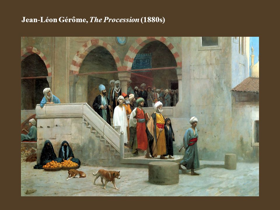 Jean-Léon Gérôme, The Procession (1880s)
