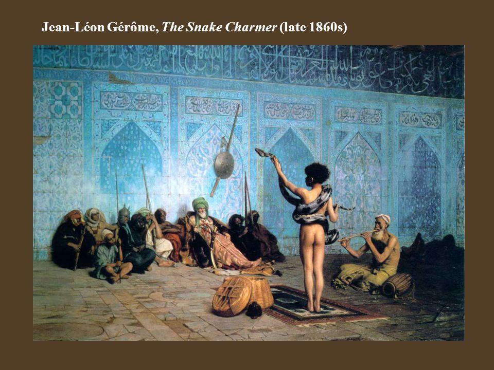 Jean-Léon Gérôme, The Snake Charmer (late 1860s)