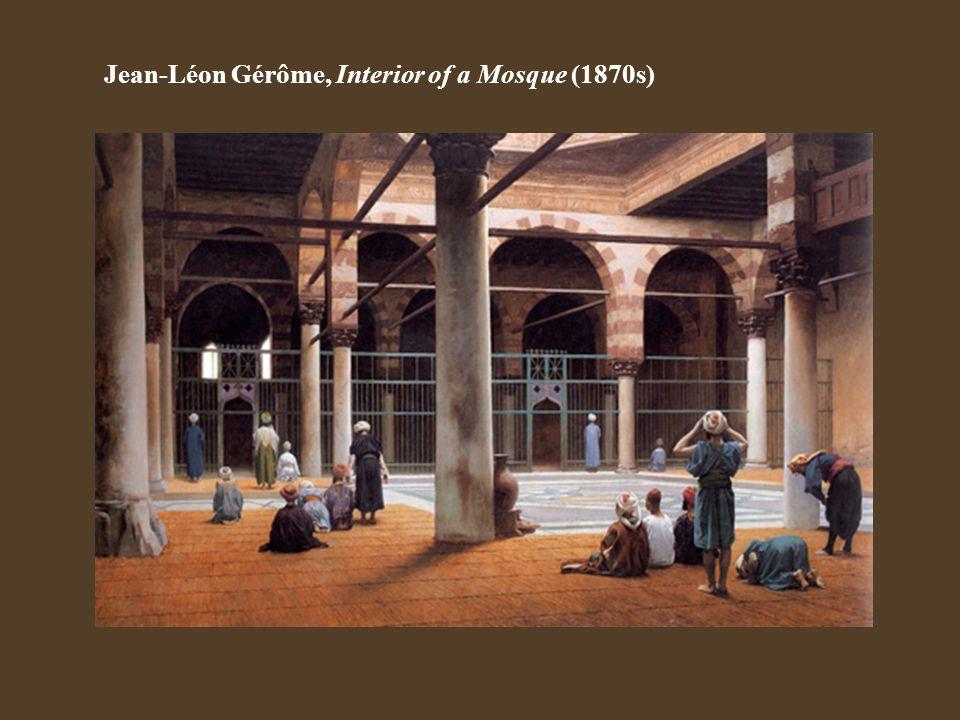Jean-Léon Gérôme, Interior of a Mosque (1870s)