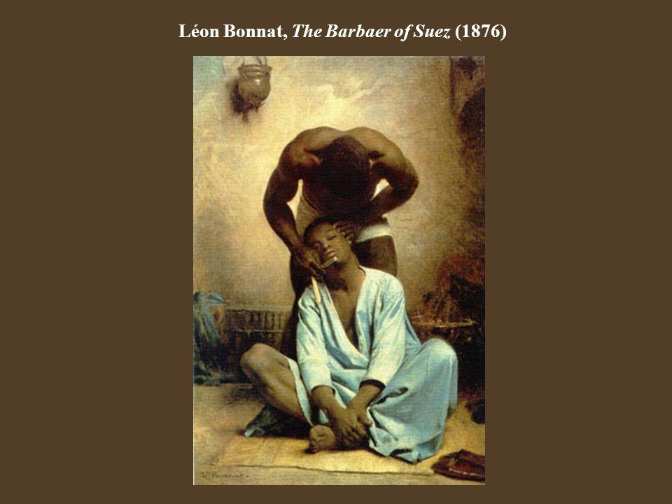 Léon Bonnat, The Barbaer of Suez (1876)