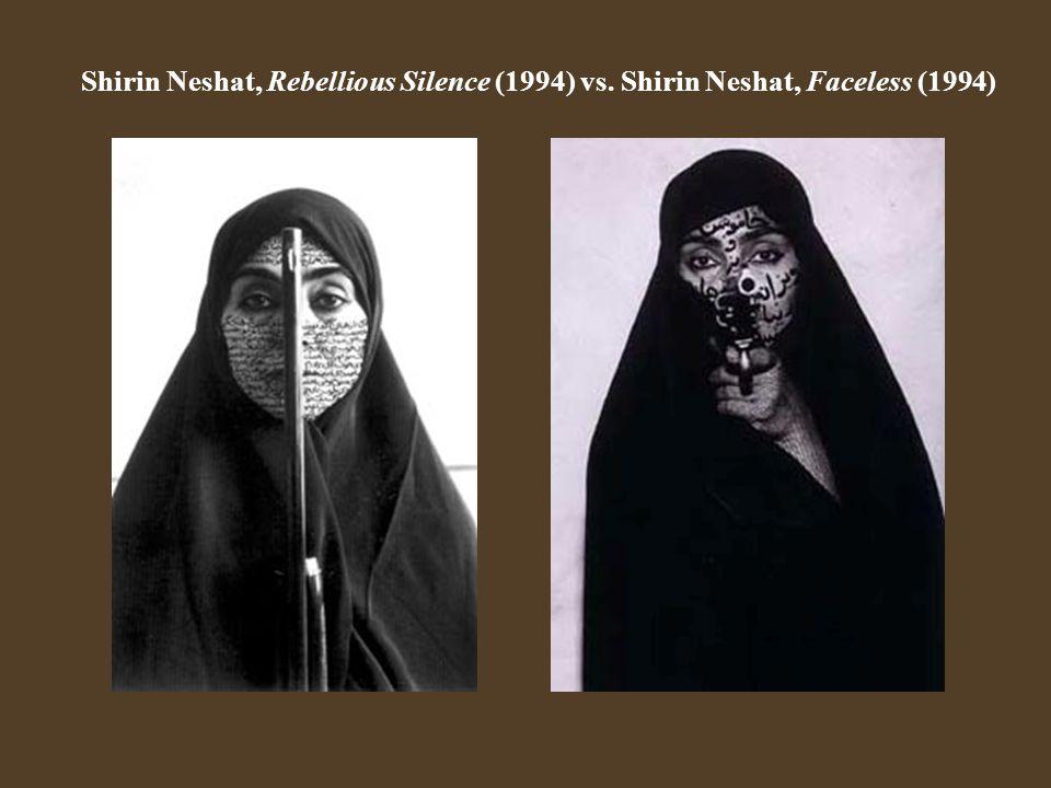 Shirin Neshat, Rebellious Silence (1994) vs
