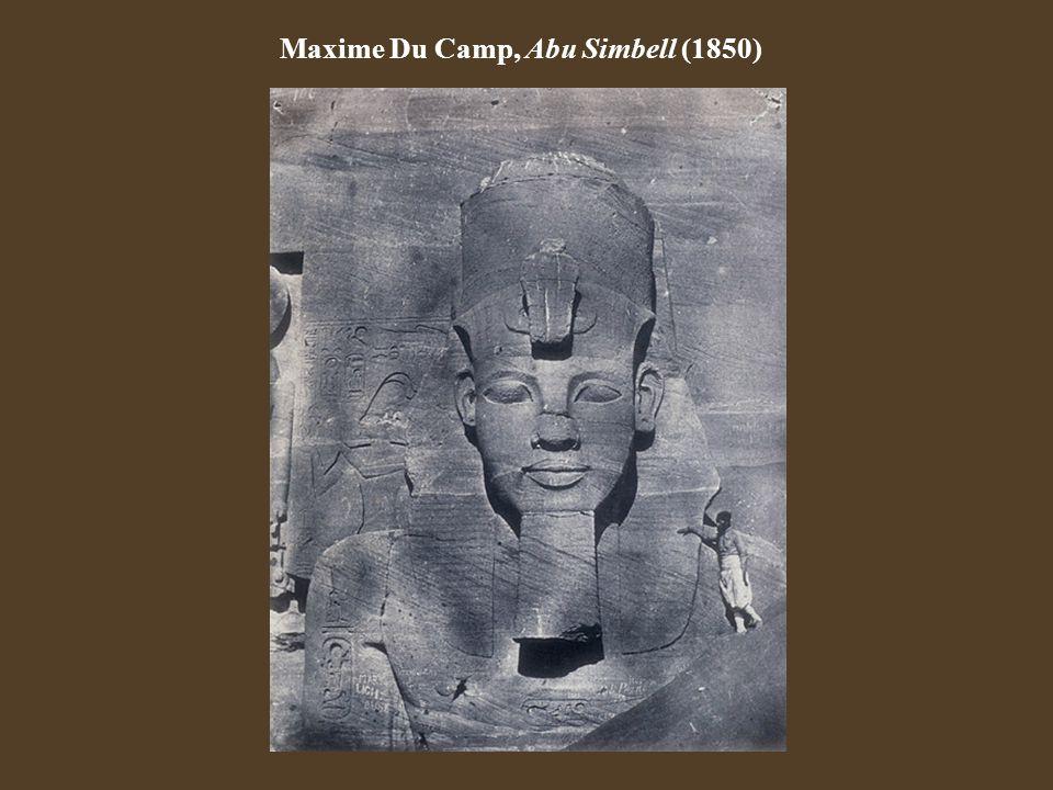 Maxime Du Camp, Abu Simbell (1850)