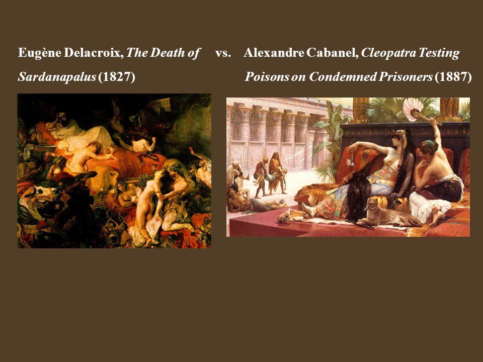 Eugène Delacroix, The Death of vs