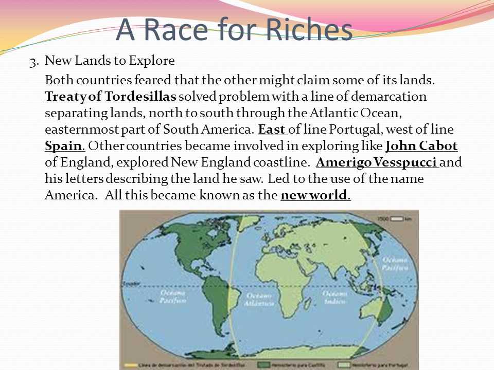 A Race for Riches