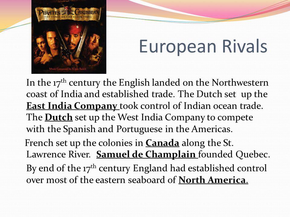 European Rivals
