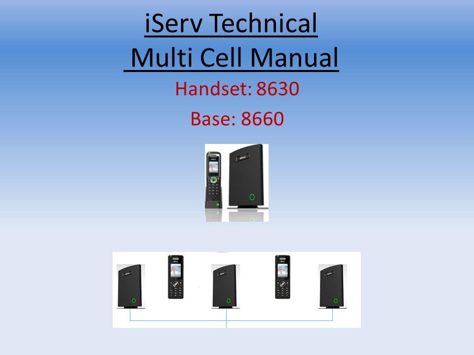 iServ Technical Multi Cell Manual