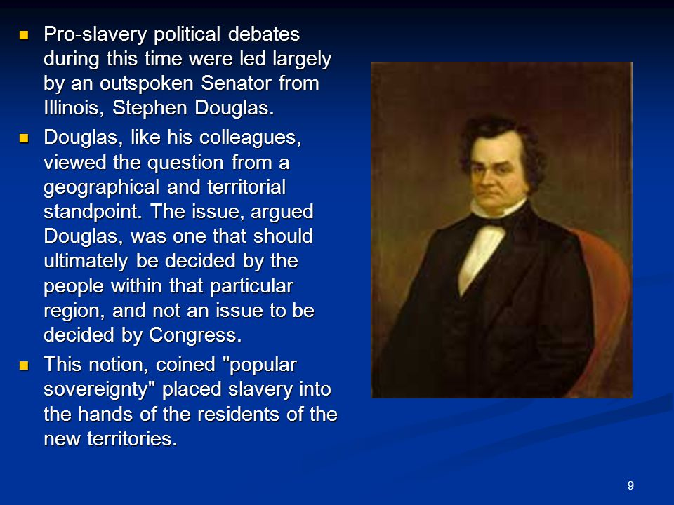 pro slavery argument The most accessible original sources i discovered were the collection of essays  in the reprinted book, cotton is king and pro-slavery arguments, first published.