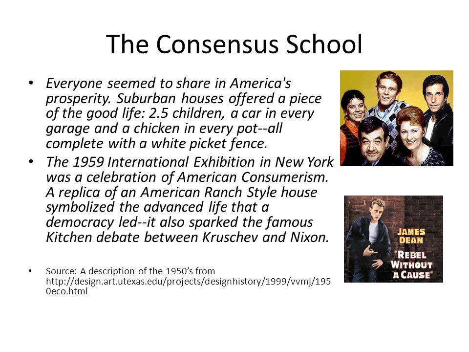 The Consensus School