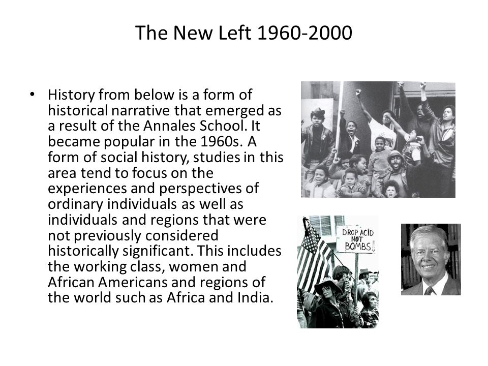The New Left 1960-2000