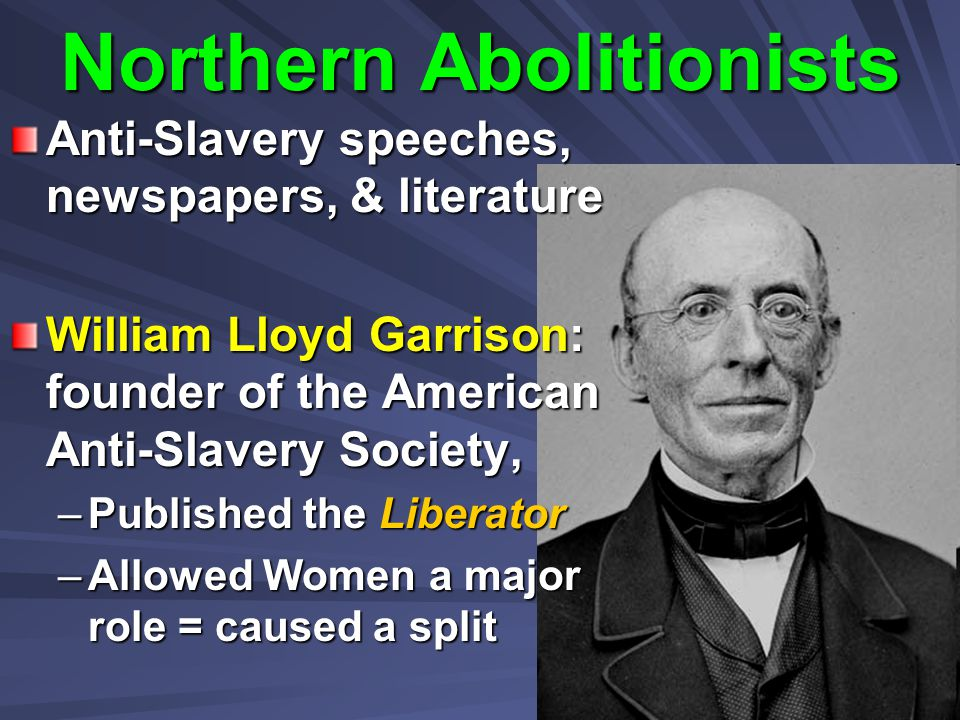 Northern Abolitionists