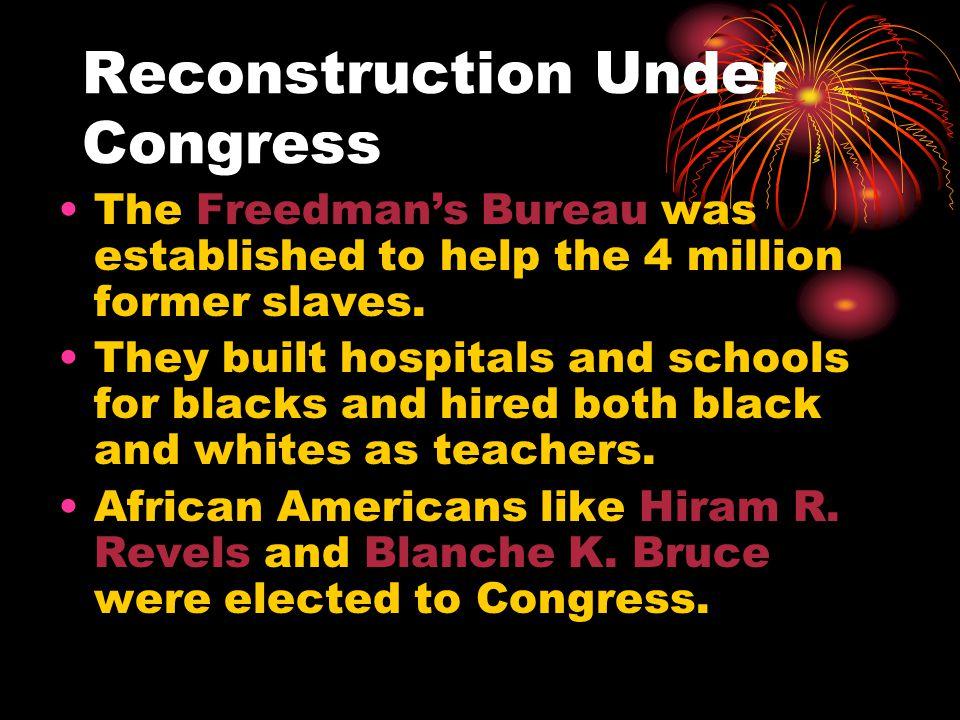 Reconstruction Under Congress