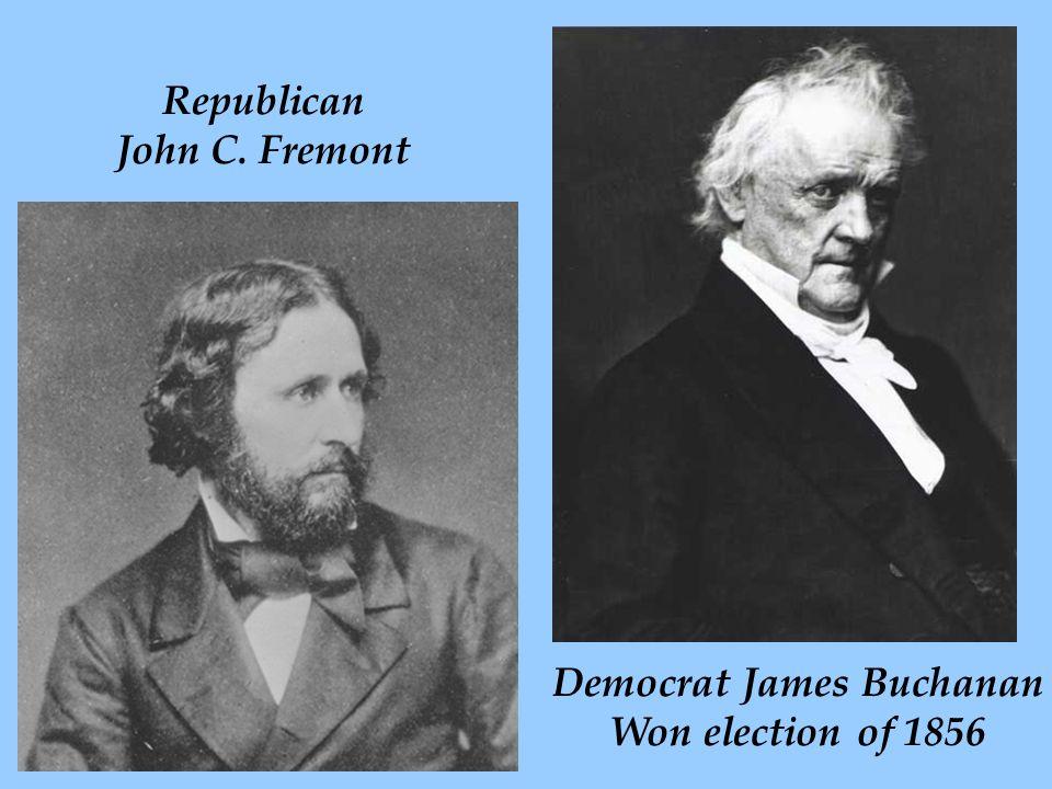 Democrat James Buchanan