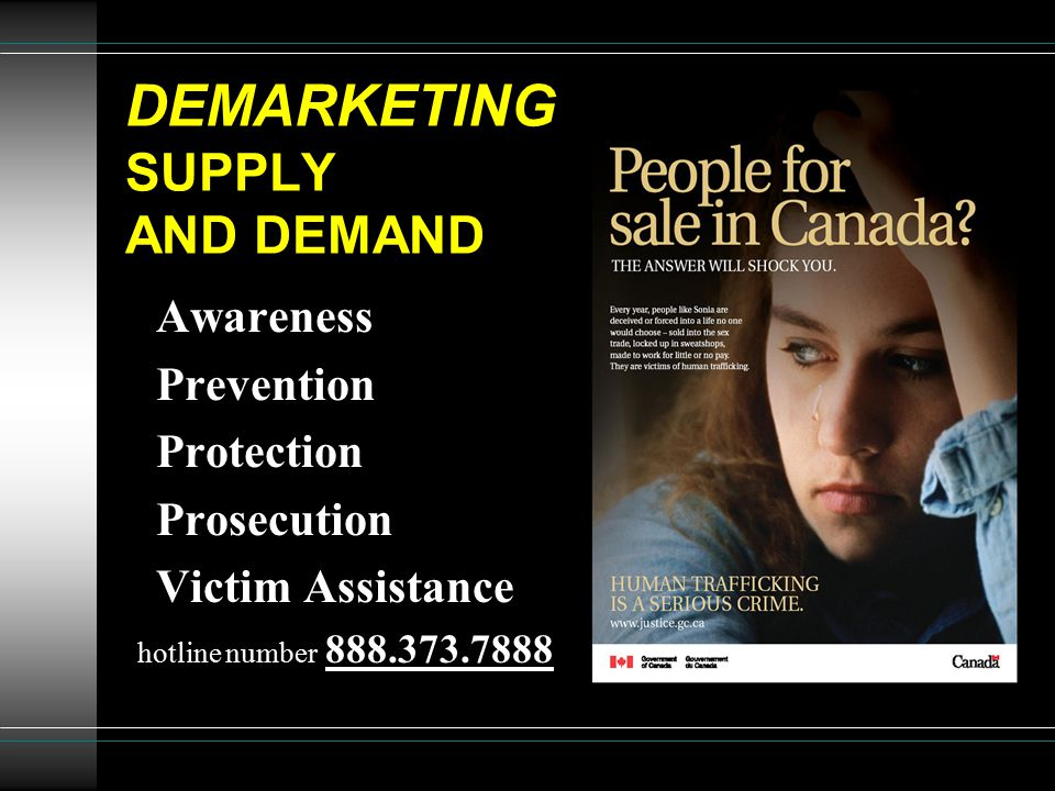DEMARKETING SUPPLY AND DEMAND