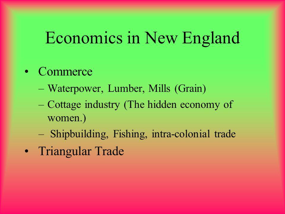 Economics in New England