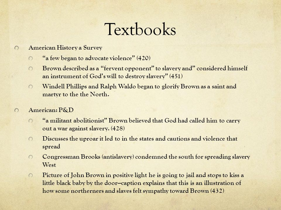 Textbooks American History a Survey
