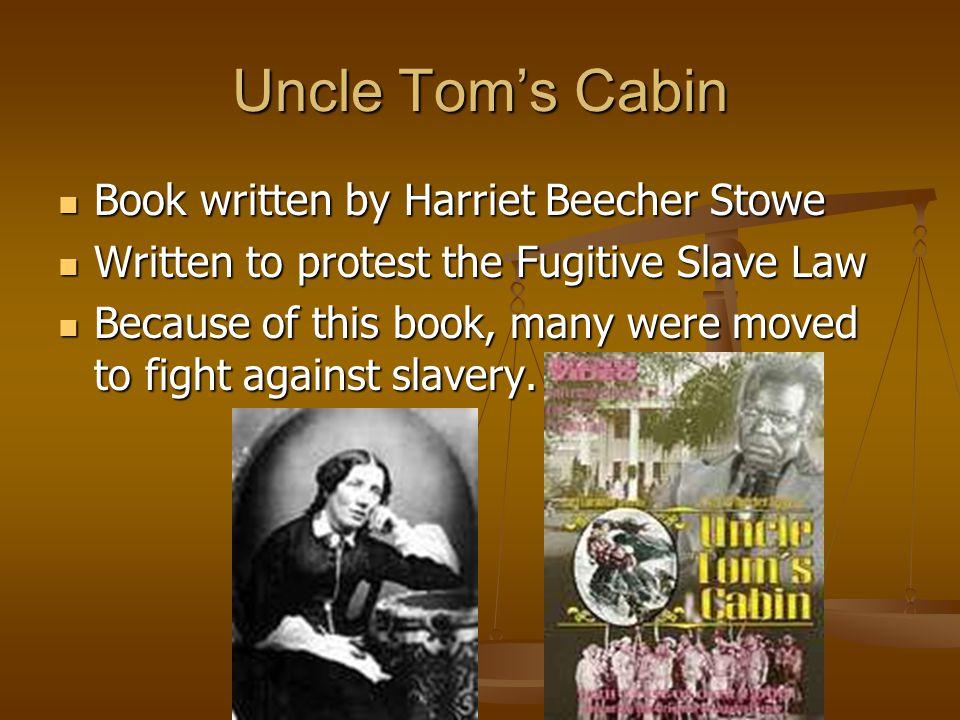 Uncle Tom's Cabin Book written by Harriet Beecher Stowe