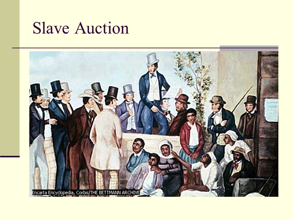 Slave Auction