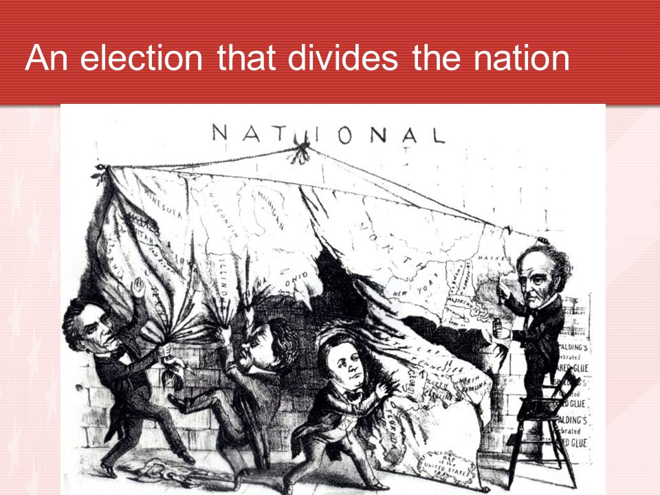 An election that divides the nation