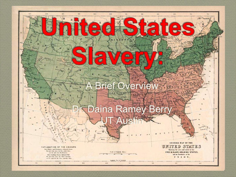 United States Slavery: