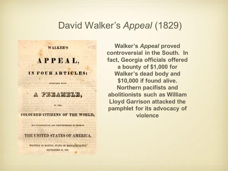 David Walker's Appeal (1829)