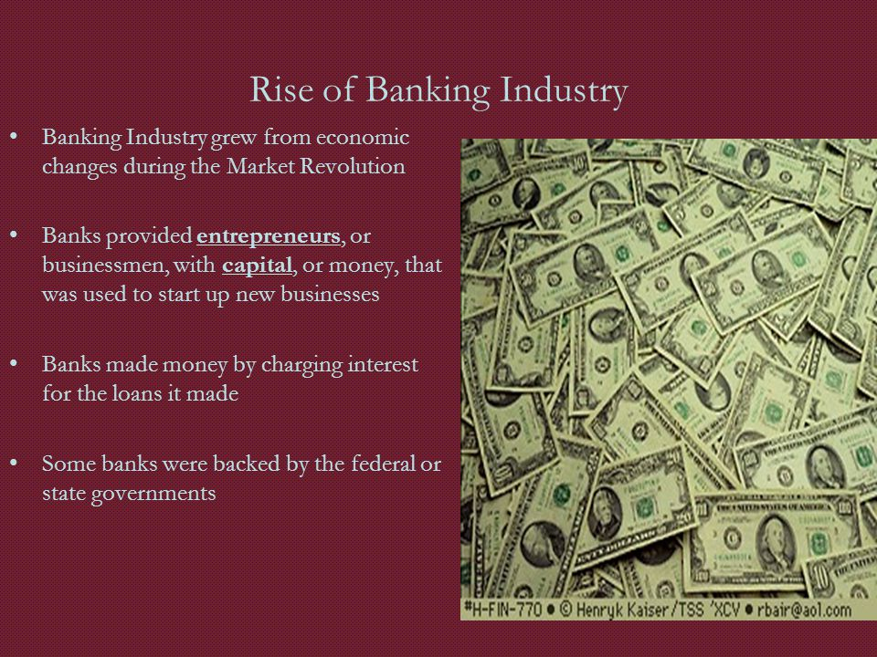 Rise of Banking Industry