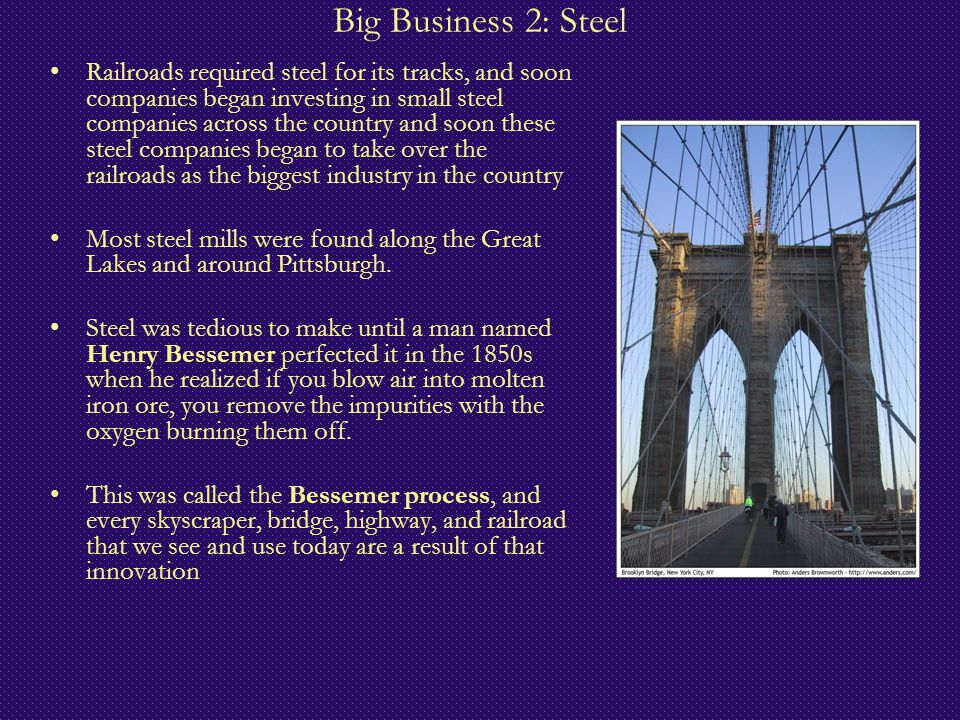 Big Business 2: Steel