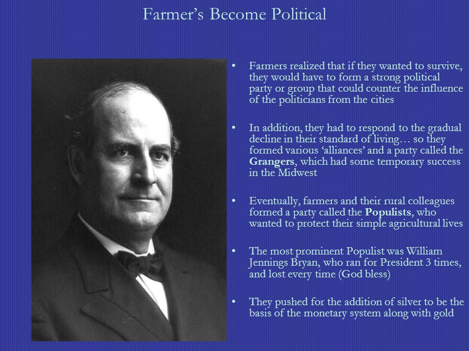 Farmer's Become Political