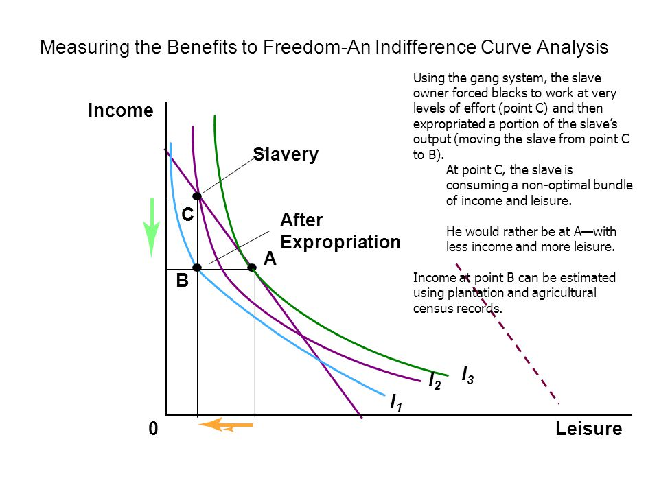 Measuring the Benefits to Freedom-An Indifference Curve Analysis