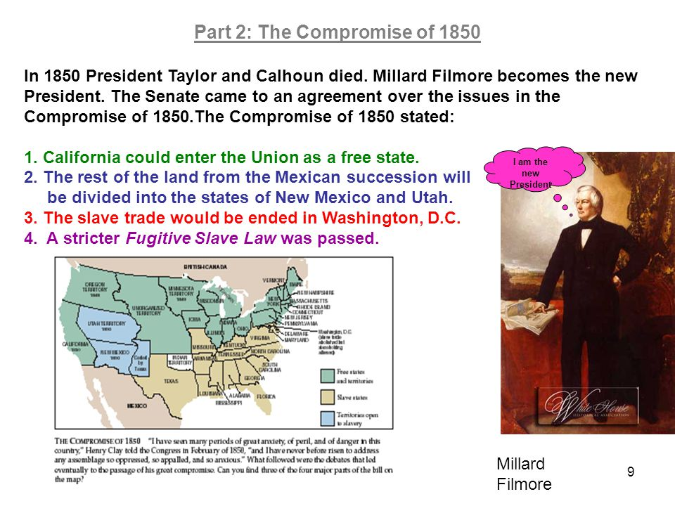 Part 2: The Compromise of 1850