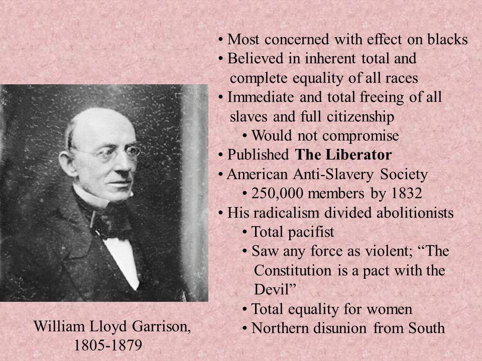 William Lloyd Garrison, 1805-1879