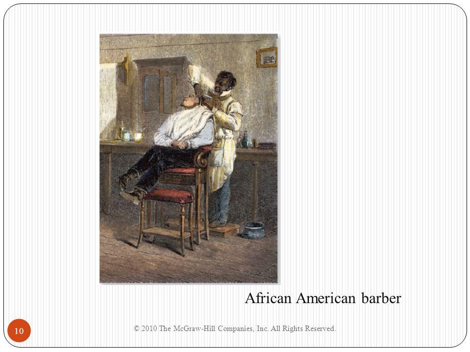 African American barber