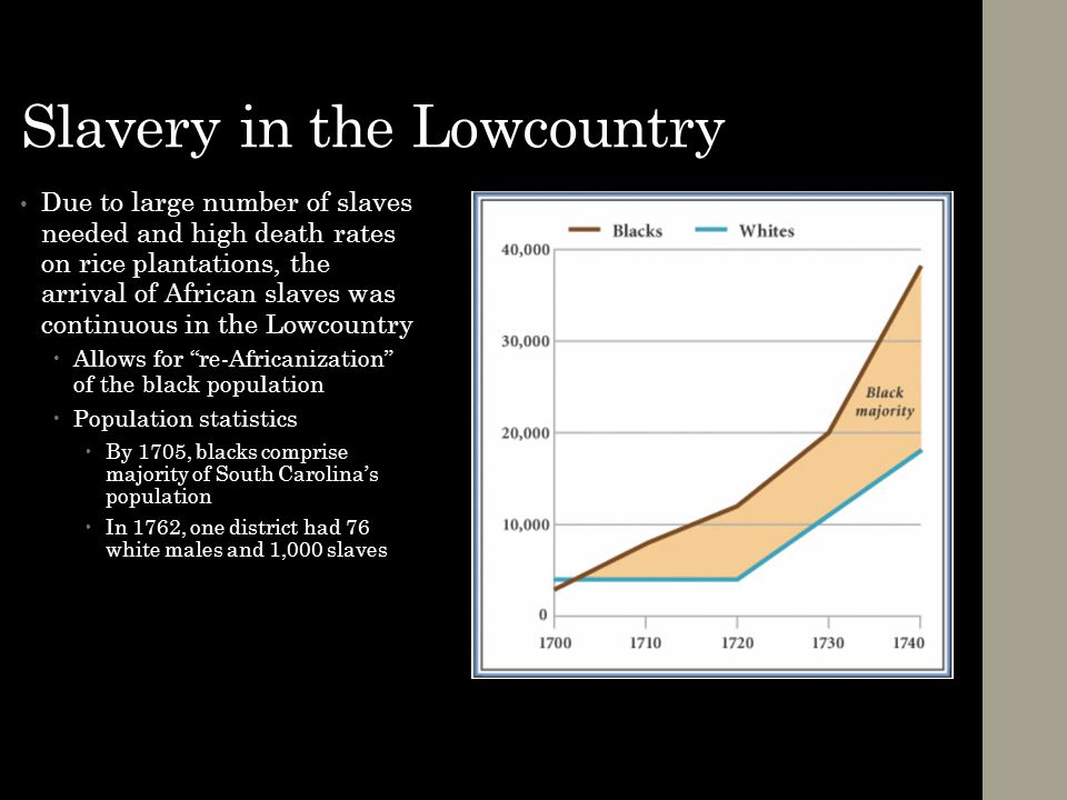 Slavery in the Lowcountry