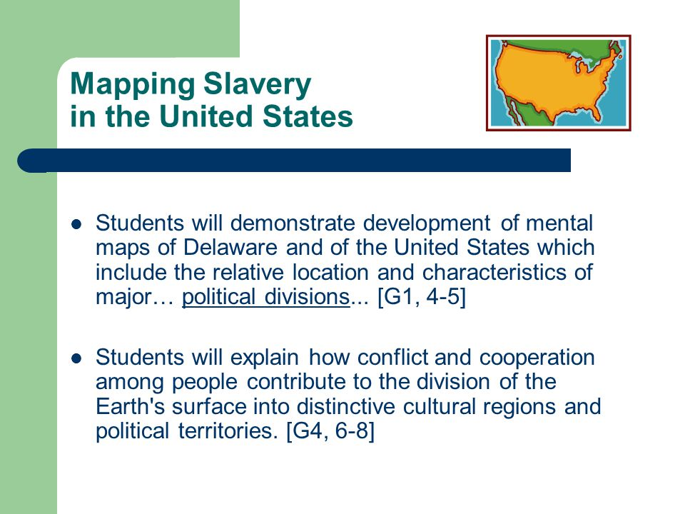 Mapping Slavery in the United States