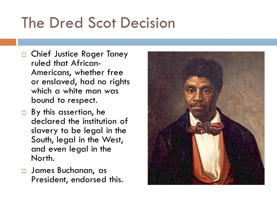 The Dred Scot Decision