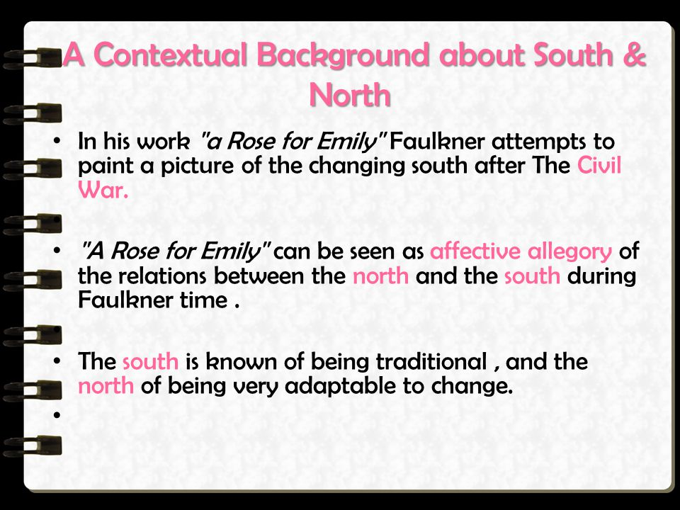 A Contextual Background about South & North