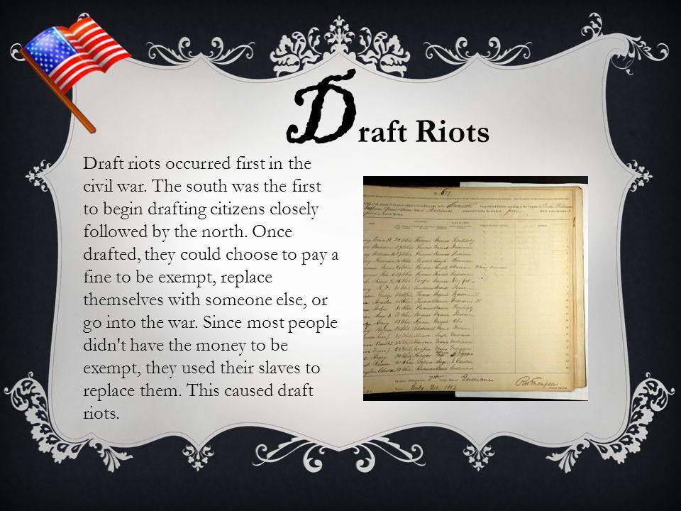 Draft Riots