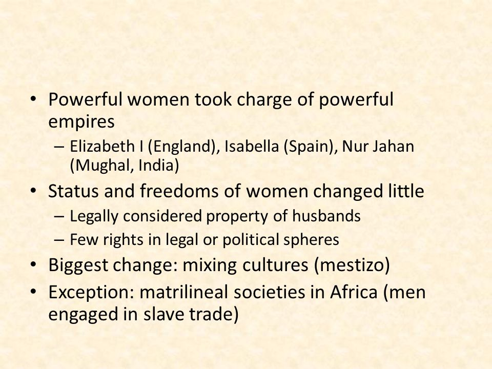 Powerful women took charge of powerful empires