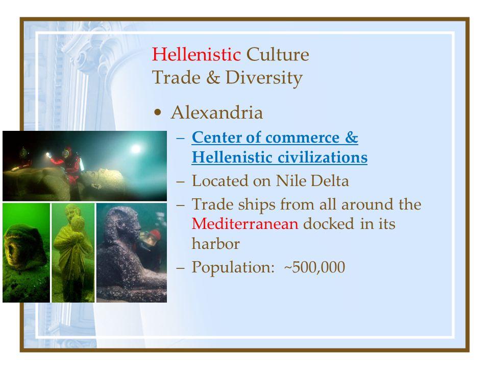 Hellenistic Culture Trade & Diversity